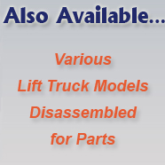 Various Lift Trucks